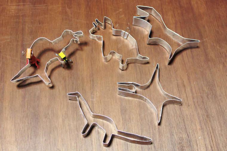 恐竜のクッキー型
